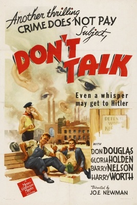 Don't Talk movie poster (1942) poster MOV_3c1288e8