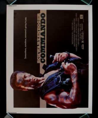 Commando movie poster (1985) poster MOV_3c1ee43c