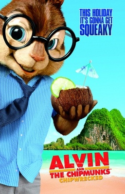 Alvin and the Chipmunks: Chip-Wrecked movie poster (2011) poster MOV_3c39088a