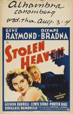 Stolen Heaven movie poster (1938) poster MOV_3c587175