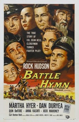 Battle Hymn movie poster (1956) poster MOV_3c70165d