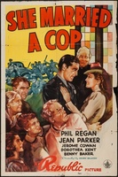 She Married a Cop movie poster (1939) picture MOV_3c7676bc