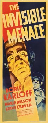 The Invisible Menace movie poster (1938) poster MOV_3c820eff