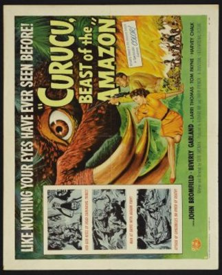 Curucu, Beast of the Amazon movie poster (1956) poster MOV_3c86a089
