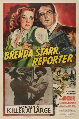 Brenda Starr, Reporter movie poster (1945) poster MOV_3c9c4a9d