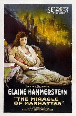 The Miracle of Manhattan movie poster (1921) poster MOV_3c9ccbfb