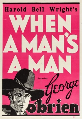 When a Man's a Man movie poster (1935) poster MOV_3c9e2131