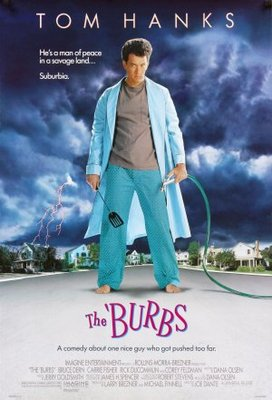 The Burbs movie poster (1989) poster MOV_3cbfc567