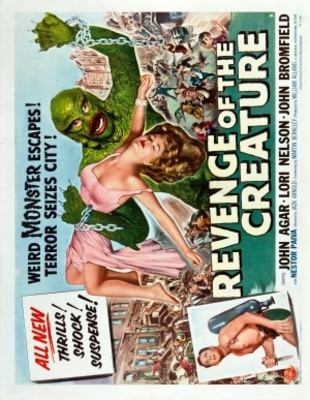 Revenge of the Creature movie poster (1955) poster MOV_3cc1f11e