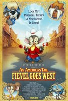 An American Tail: Fievel Goes West movie poster (1991) picture MOV_3cc9c0bf