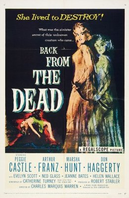 Back from the Dead movie poster (1957) poster MOV_3cd7de31