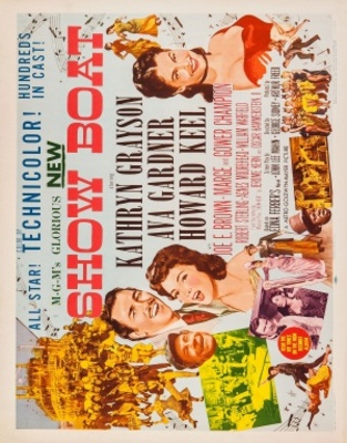 Show Boat movie poster (1951) poster MOV_3cf37bf2