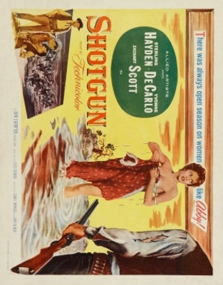 Shotgun movie poster (1955) poster MOV_3d0a4447