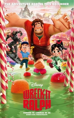 Wreck-It Ralph movie poster (2012) poster MOV_3d311aad