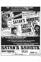 Satan's Sadists movie poster (1969) picture MOV_3d54ea85