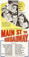 Main Street to Broadway movie poster (1953) picture MOV_3d6419bb