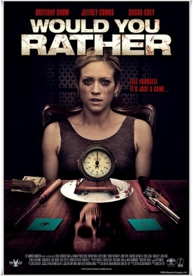 Would You Rather movie poster (2012) poster MOV_3d9e4669