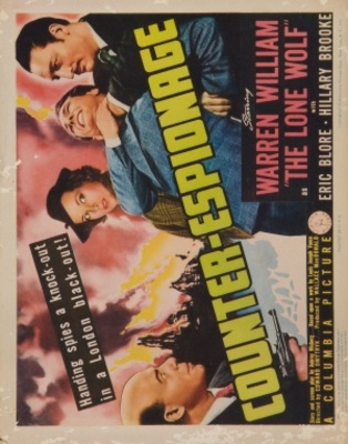 Counter-Espionage movie poster (1942) poster MOV_3dafed82