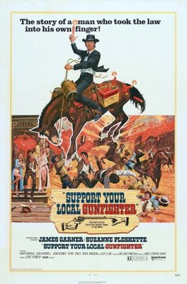 Support Your Local Gunfighter movie poster (1971) poster MOV_3dba19b5