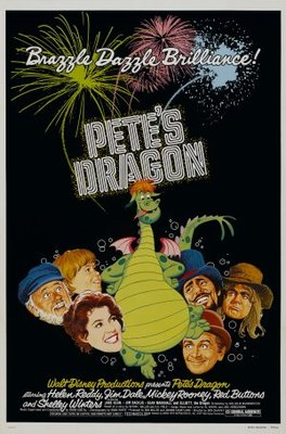 Pete's Dragon movie poster (1977) poster MOV_3dd34bc5