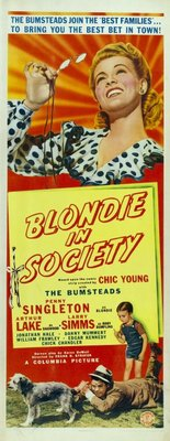 Blondie in Society movie poster (1941) poster MOV_3dda8deb
