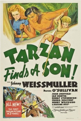 Tarzan Finds a Son! movie poster (1939) poster MOV_3e31abc0