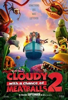 Cloudy with a Chance of Meatballs 2 movie poster (2013) picture MOV_3e36f520