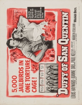 Duffy of San Quentin movie poster (1954) poster MOV_3e3f99b5