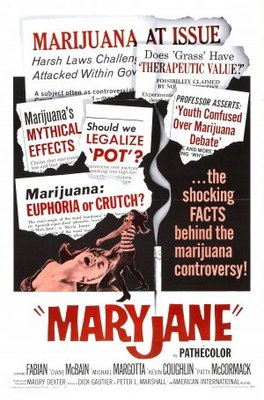 Maryjane movie poster (1968) poster MOV_3e4437e4