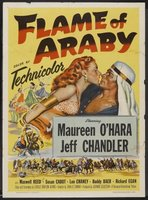 Flame of Araby movie poster (1951) picture MOV_3e4fe05d
