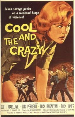 The Cool and the Crazy movie poster (1958) poster MOV_3e5d3391