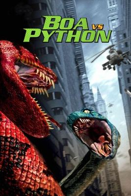 Boa vs. Python movie poster (2004) poster MOV_3e61ece0