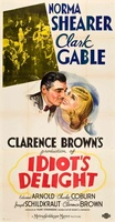 Idiot's Delight movie poster (1939) picture MOV_3e770a7a