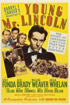 Young Mr. Lincoln movie poster (1939) poster MOV_3e7a6a09