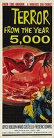 Terror from the Year 5000 movie poster (1958) picture MOV_3e8840d2