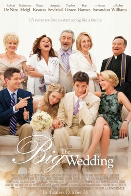 The Big Wedding movie poster (2012) poster MOV_3e88ded6