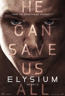 Elysium movie poster (2013) poster MOV_3eb03c12