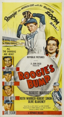 Roogie's Bump movie poster (1954) poster MOV_3ebd3ec8
