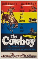 The Cowboy movie poster (1954) picture MOV_3ec66a7f