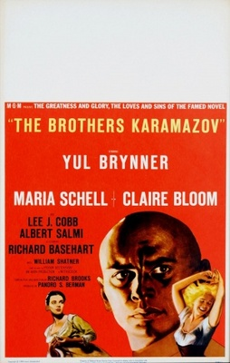 The Brothers Karamazov movie poster (1958) poster MOV_3eed6efe