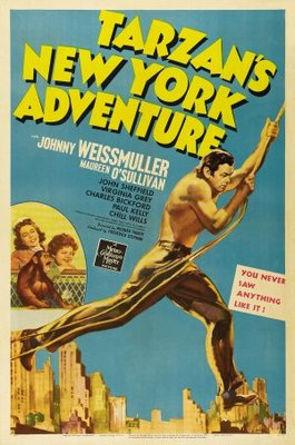 Tarzan's New York Adventure movie poster (1942) poster MOV_3effdb49