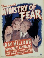 Ministry of Fear movie poster (1944) picture MOV_3f0a7953