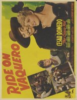 Ride on Vaquero movie poster (1941) picture MOV_3f22fcea