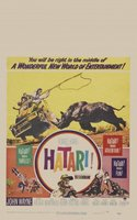 Hatari! movie poster (1962) picture MOV_3f3c593f