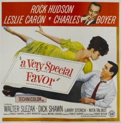 A Very Special Favor movie poster (1965) poster MOV_3f842697