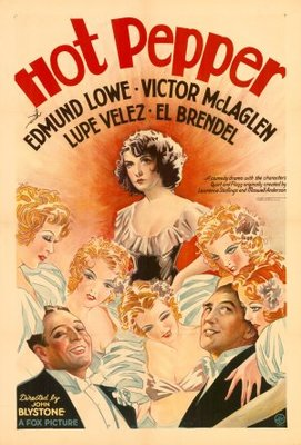 Hot Pepper movie poster (1933) poster MOV_3f9b2a64