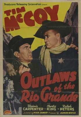 Outlaws of the Rio Grande movie poster (1941) poster MOV_3f9c4c7d