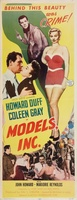 Models, Inc. movie poster (1952) picture MOV_3fb4f056