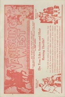 The Vanishing West movie poster (1928) picture MOV_3fbff226