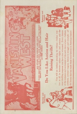 The Vanishing West movie poster (1928) poster MOV_3fbff226